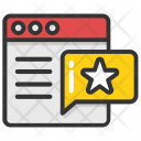 Website Rating Review Icon