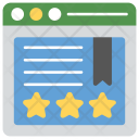 Website ratings Icon