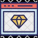 Website Reputation Rank Web Icon