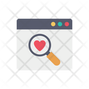 Website Search Website Page Icon