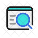 Website Search Website Find Icon