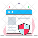 Internet Security Web Security Web Protection Icon