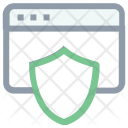 Website Security Online Icon