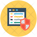 Website Security Online Security Internet Site Icon