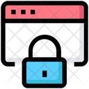 Website Browser Lock Icon