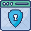 Password Eye Shield Icon