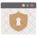 Web Protection Website Security Website Lock Icon