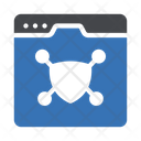 Shield Webpage Security Icon