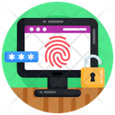 Web Protection Website Security Fingerprint Security Icon