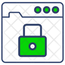 Website Security Lock Icon