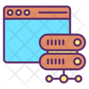 Website Server Connection Icon