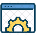 Website Setting Web Setting Icon