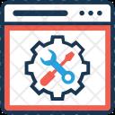 Settings Web Development Icon