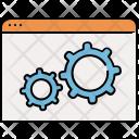 Settings Window Website Icon