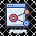 Website Sharing Icon