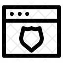 Website Shield Icon