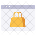 Website Shopping Icon