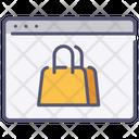Website shopping Icon