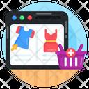 Online Shopping E Shopping Website Shopping Icon