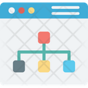 Website sitemap Icon