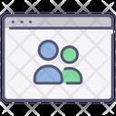 Website social media Icon