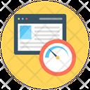 Website Speed Web Analyzer Speed Test Icon