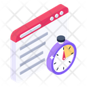 Page Speed Test Web Speed Web Speed Checking Icon