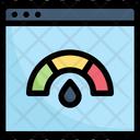 Website Speedometer Icon