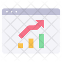Website stats Icon