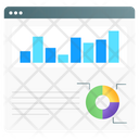 Web Traffic Website Stats Web Analytics Icon