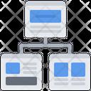 Website Structure Code Development Icon