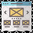 Website Template Design Icon
