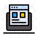 Webpage Design Browser Icon