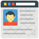 Business Website Template Icon