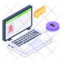 Website Threat Icon