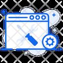 Website Tools Web Setting Web Configuration Icon