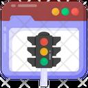 Web Layout Website Traffic Web Design Icon