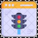 Web Traffic Website Traffic Site Traffic Icon