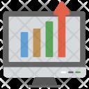 Website Traffic Statistics Icon