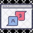 Website Translate Icon