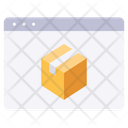 Website transport delivery Icon
