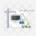 Website Under Construction Icon