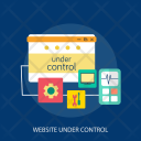 Website Under Control Icon