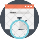 Website Uptime Availability Icon