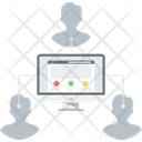 Website Users Icon