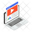 Website Video Icon