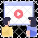 Website Video Icon