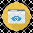 Website View Eye Icon