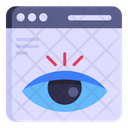 Online Monitoring Website Monitoring Page Views Icon