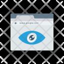 Eye View Browser Icon
